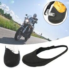 Shoes-Cover Mark-Protector Motorbike Gear Shift Scuff Anti-Slip Adjust Waterproof