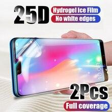 2 adet ekran koruyucu hidrojel Film için Xiaomi Mi 10 Mi 9 Mi 9T Pro Mi 8 A3 koruyucu film Redmi için not 9 8 7 K20 K30 Pro 9S