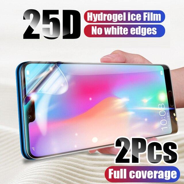 2 sztuk folia ochronna hydrożel Film dla Xiaomi Mi 10 Mi 9 Mi 9T Pro Mi 8 A3 folia ochronna dla Redmi uwaga 9 8 7 K20 K30 Pro 9S