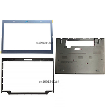 New Original For Lenovo Thinkpad T460 LCD Front Frame Bezel 04X5448 + Stickers 01AW304 +Lower Bottom Base Case Cover 01AW317