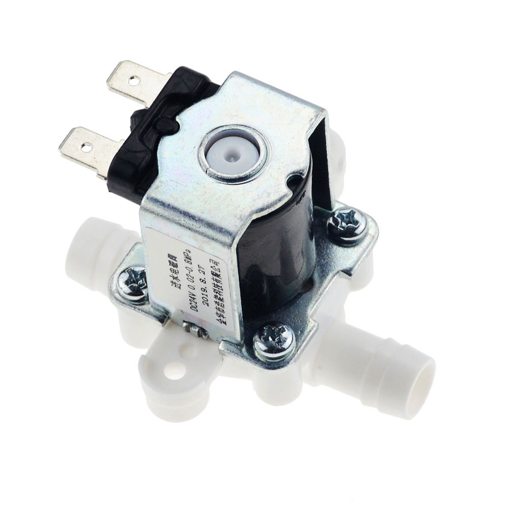 1PCS 12/24/36/110/220V Pressurized Solenoid Valve Inlet Valve 12mm For Water Dispenser Water Purifier Plastic Water Valve