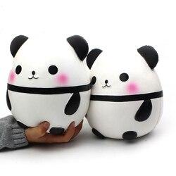 Big Size Panda gniotka Squeeze zabawna kreatywność Squishie Abreact Stress Reliever żartuje dekompresyjne zabawki do ściskania|Zabawki do zgniatania|Zabawki i hobby -