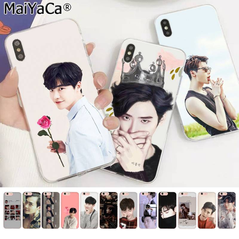 MaiYaCa Koreanische männliche star Idol Lee Jong Suk Nach Transparent Telefon Fall für Apple <font><b>iphone</b></font> 11 pro 8 7 66S <font><b>plus</b></font> X XS MAX 5S SE XR image
