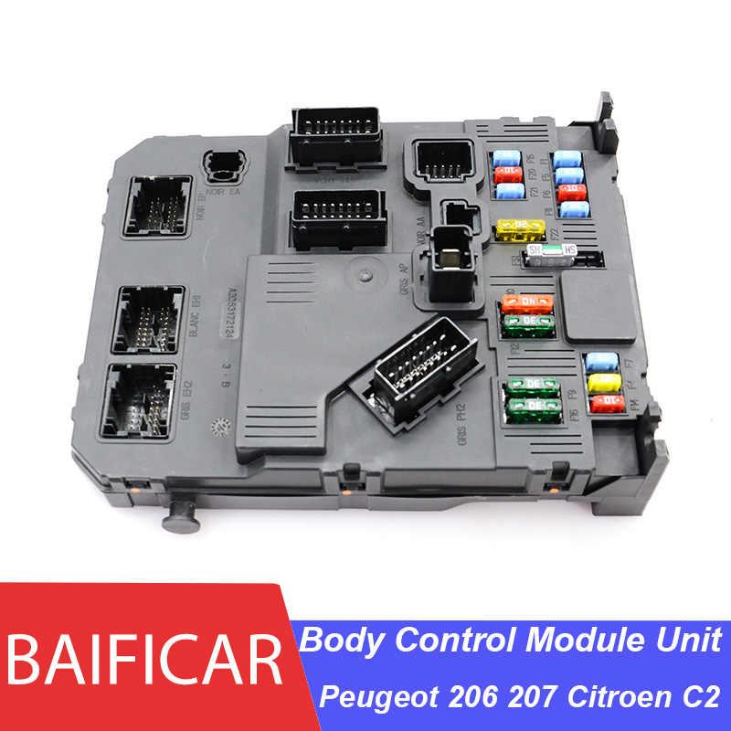 Baificar Brand New Genuine E02 00 BSI Body Control Module Unit ECU Fusebox  9657999780 S118085220F For Peugeot 206 207 Citroen C2|Fuses| - AliExpress | Citroen C2 Fuse Box |  | AliExpress