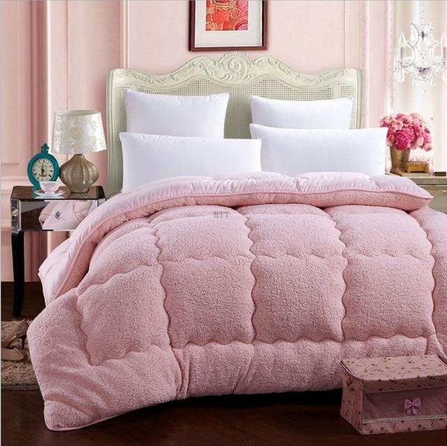 Купить теплое зимнее шерстяное одеяло camelhair утепленное одеяло/одеяло картинки цена