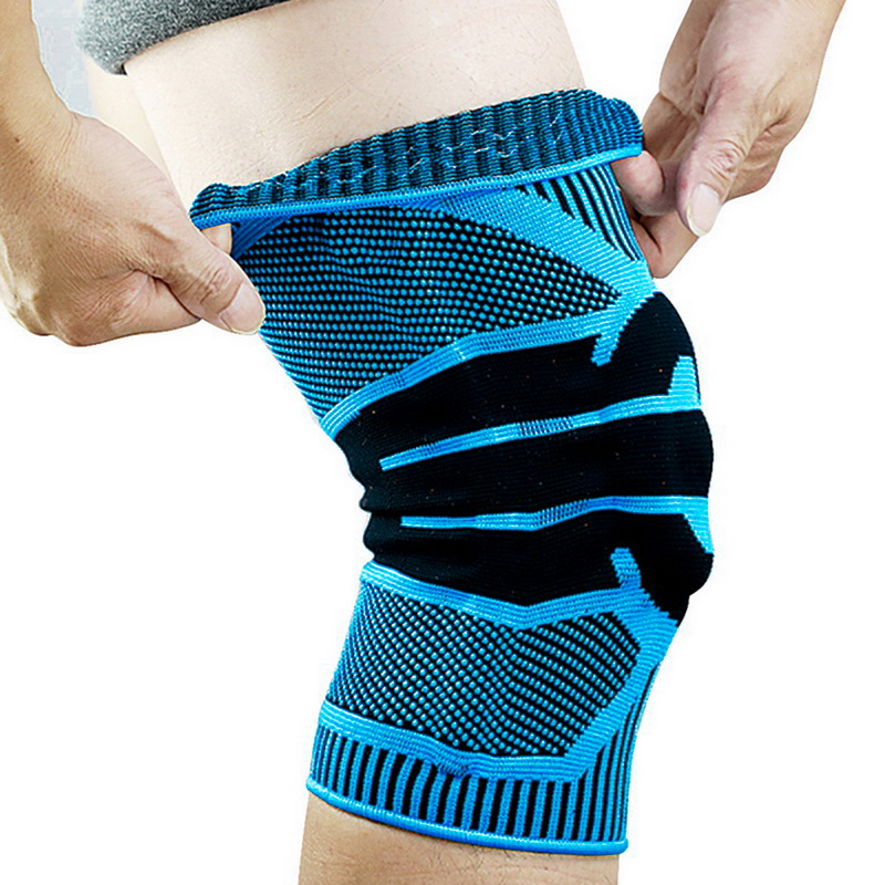 Sports Knee Pads Running Basket Sports Safety Protect 1 Piece Spring Knee Protector Knee Brace Basketball Volleyball Knee Pad