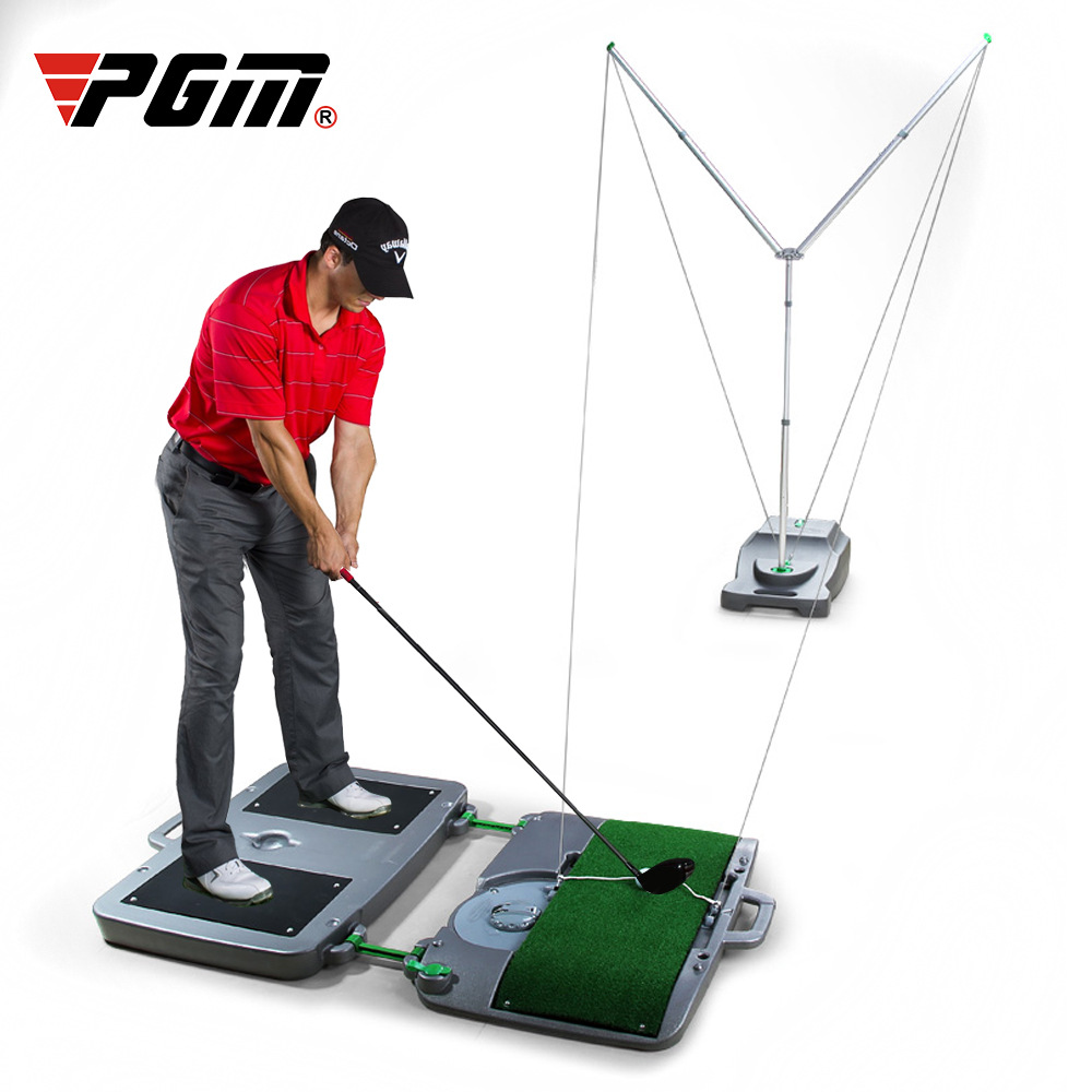 Golf Swing Trainer Beginner Practice Supplies Automatic Ball Back Indoor Simulator