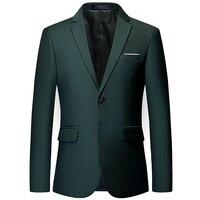 Men's high end custom business Slim official classic blazer / multi color Plus size men's suit jacket groom wedding suit jacket
