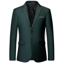 Mens high-end custom business Slim official classic blazer / multi-color Plus size mens suit jacket groom wedding