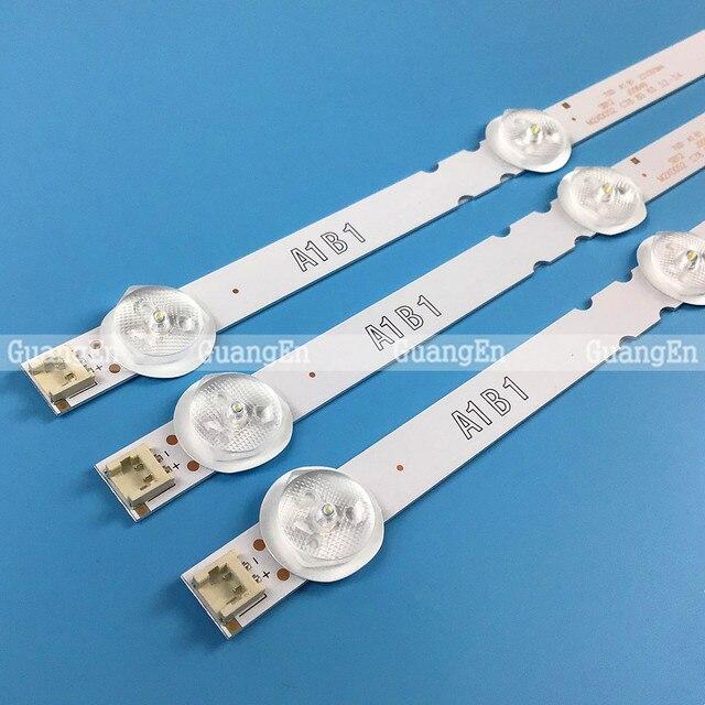 3 조각 7LED 백라이트 램프 스트립 LG 32 TV 32ln541v 32LN540V A1 B1 Type 6916L 1437A 6916L 1438A 6916L 1204A 6916L 1426A 63cm