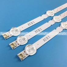 3 Stuks 7LED Backlight Lamp Strip Voor Lg 32 Tv 32ln541v 32LN540V A1 B1 Type 6916L 1437A 6916L 1438A 6916L 1204A 6916L 1426A 63Cm