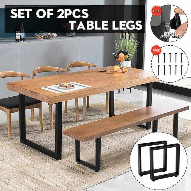 2pcs Table Desk Legs Square Furniture Legs Floor Protector Sturdy Legs Sofa Chair Leg DIY Table Accessories Home furniture