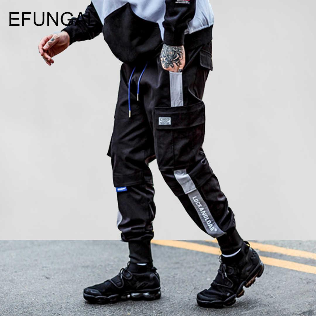Efungal Pantalones De Chandal Con Bolsillo Para Hombre Ropa Urbana De Alta Moda Pantalones De Hip Hop Pantalones Informales Aliexpress