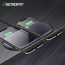 15W Qi inalámbrica Dual de carga Estación de muelle para Huawei P30 Pro amigo RS Samsung Nota 10 Plus S9 Iphone 11 Pro Max XR cargador rápido