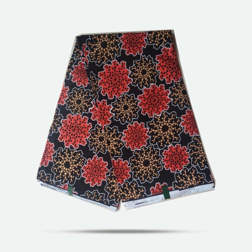 High quality! African prints wax fabric 2020 popular design Ankara Ghana dresses Ankara wax fabric 6yards