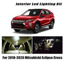 13x para mitsubishi eclipse cruz 2018-2019 2020 canbus veículo led interior luz da placa de licença lâmpada iluminação do carro acessórios