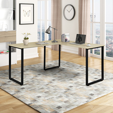 L-Shaped Office Furnitures Computer Table Office Laptop Desk Wooden Desk Home Office L-Shape Corner Table Computer Desk For Home cheap CN(Origin) China PC Desk solid color as shown