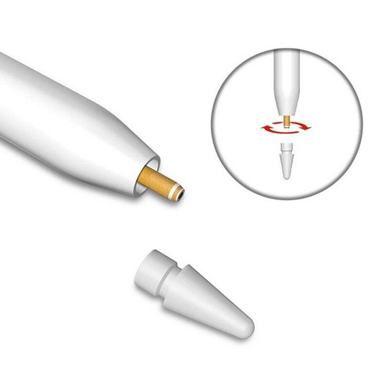 4 PCS//Set Stylus Touchscreen Pen Replacement Nib Tip For Apple Pencil iPad Pro