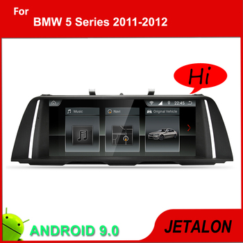 "JETALON 10.25"" IPS Screen Car Multimedia Player For BMW 5 Series F10 F11 Navigation Car Android 9.0 GPS video recoder 2011-2017"