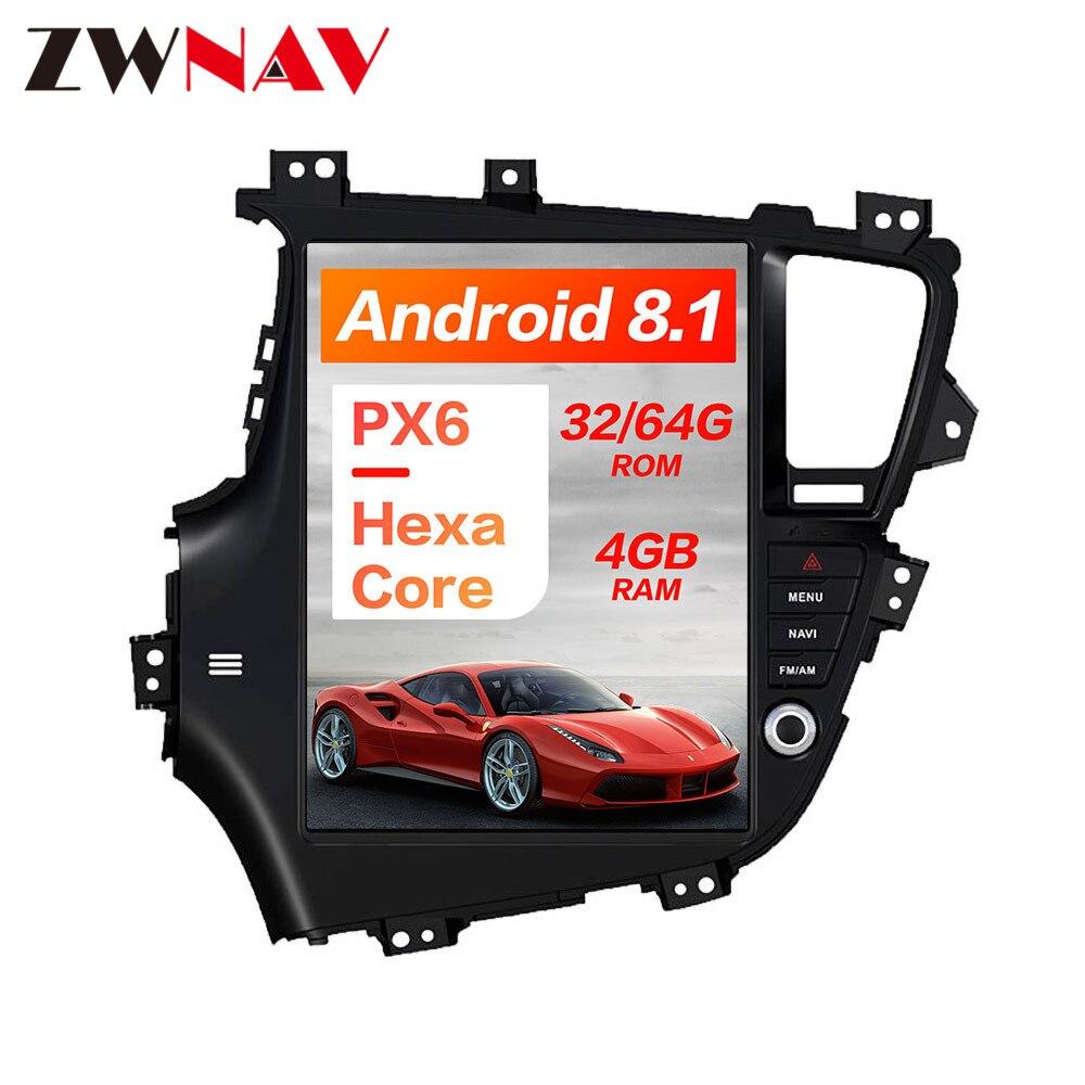Tesla style Android8 Car GPS Navigation car No DVD Player For KIA Optima KIA K5 2010