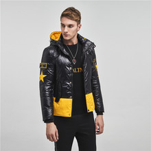 Coats Clothing Parkas Hooded White-Duck-Down Men Fashion Casual New Warm Male Slim Thick