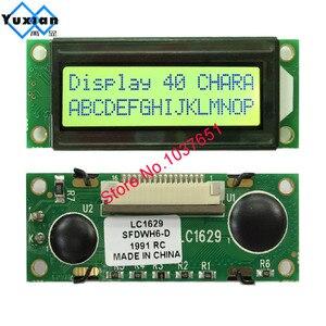 Image 5 - קטן מיני גודל 1602 16*2 LCD תצוגת מודול כחול ירוק LC1629 HD44780 במקום OM16213 FMA16213 LMB162XFW PC1602 K