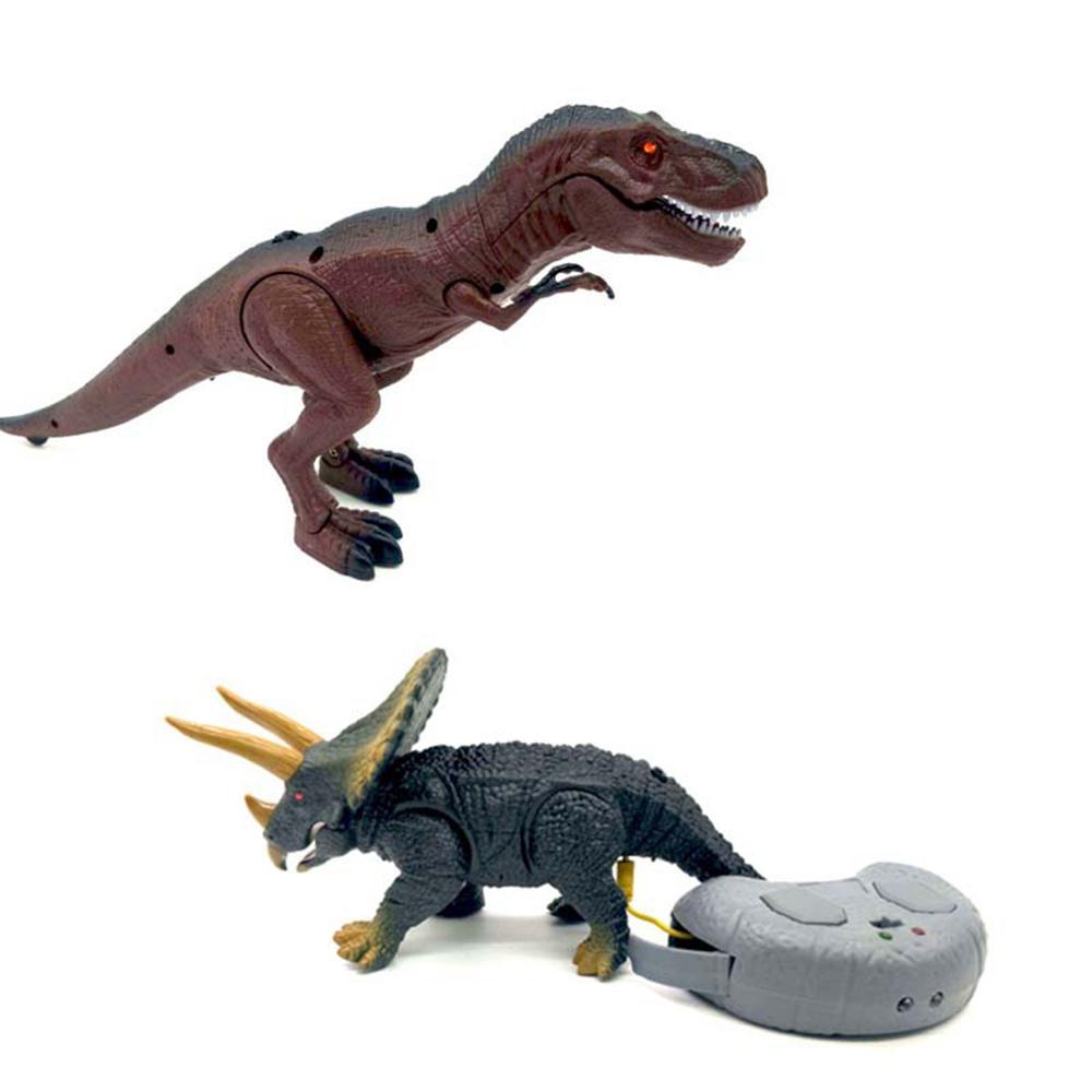 Классические Обучающие игрушки Прогулки Электрический большие игрушки динозавра с Музыка светильник Прогулка звуки модели игрушки для де...