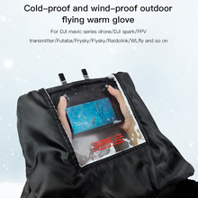 STARTRC DJI MAVIC MINI RC remote control warm gloves outdoor aerial photography cold and windproof For rc transmitter rc parts