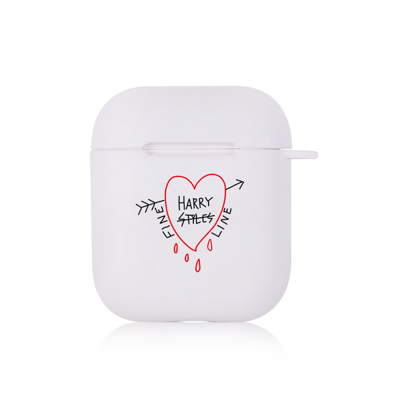 Harry Styles Airpod Case Harry Styles Vol.6 Soft Silicone Case For Airpods Pro 2 1 Wireless Earphone Cute Cartoon Clear Charging Box Bag