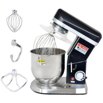 7L Electric Food Mixer Planetary 3Speed Processor Cream Egg Whisk Stand Cake Dough Blender Kitchen Machine