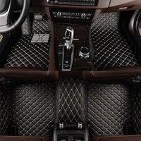 HLFNTF Custom car floor mats For land rover Rover Range Evoque Sport Freelander Discovery 3 4 Defender LR car accessories