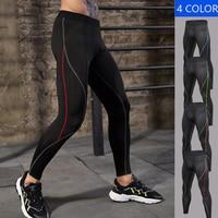 Mallas deportivas de compresión para hombre, Leggings de gimnasio para correr, entrenamiento y Joggings, medias de fútbol