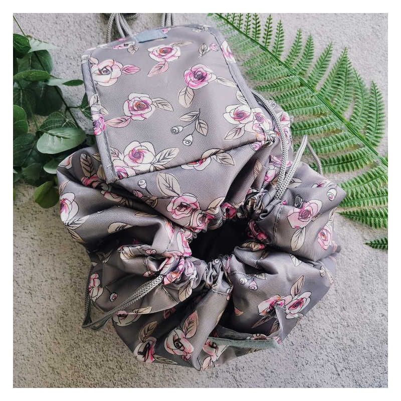 2020 Women Make Up Bag Drawstring Organizer For Travel Makeup Bag Make Cosmetic Bag Case Storage Pouch Toiletry Beauty Kit Box