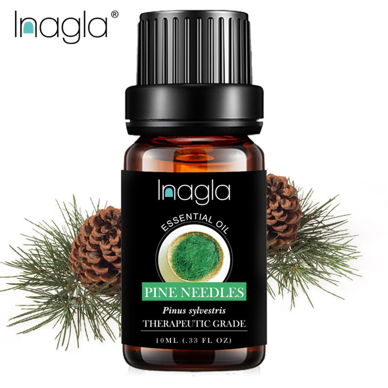Inagla Pine Needles Essential Oil Sandalwood Ylang Natural 10ML Pure Essential Oils Aromatherapy Diffusers Oil Relieve Stress