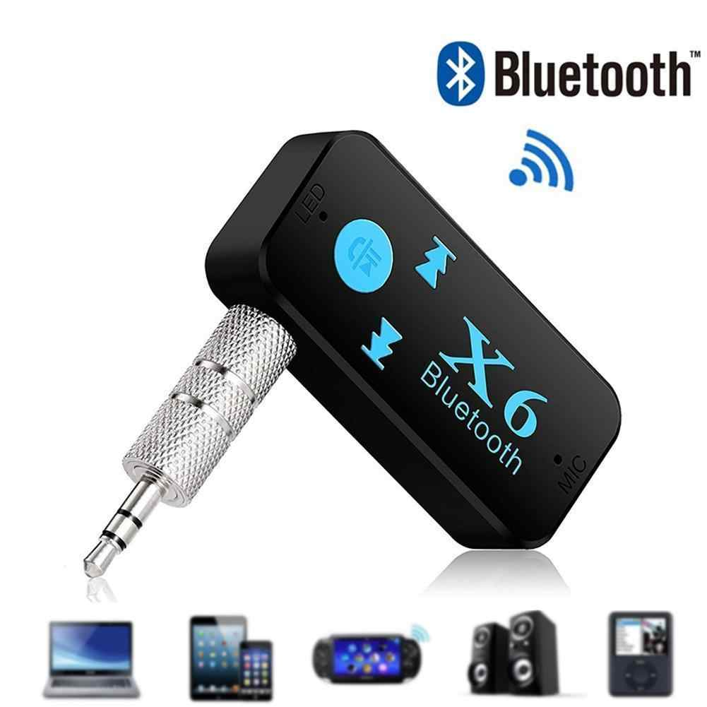 X6 Car Bluetooth Receiver Car MP3 Player AUX Car Bluetooth Handsfree Bluetooth Adapter 3 in 1 Wireless 4.0 USB