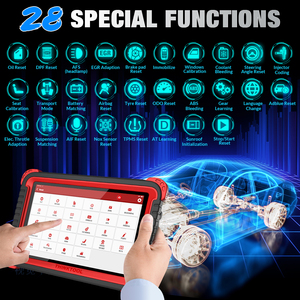 Image 5 - Thinkcar herramienta de diagnóstico Thinktool Pros Plus OBD2, herramienta de programación en línea de 10 pulgadas, función ADAS, 2 años de actualización gratuita, reinicio especial de 28