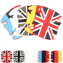 4pcs Universal Car Soft Rubber Film Styling Handle Scratches Stickers Auto Door Wrist Protective Fashion Decals Car Accessories