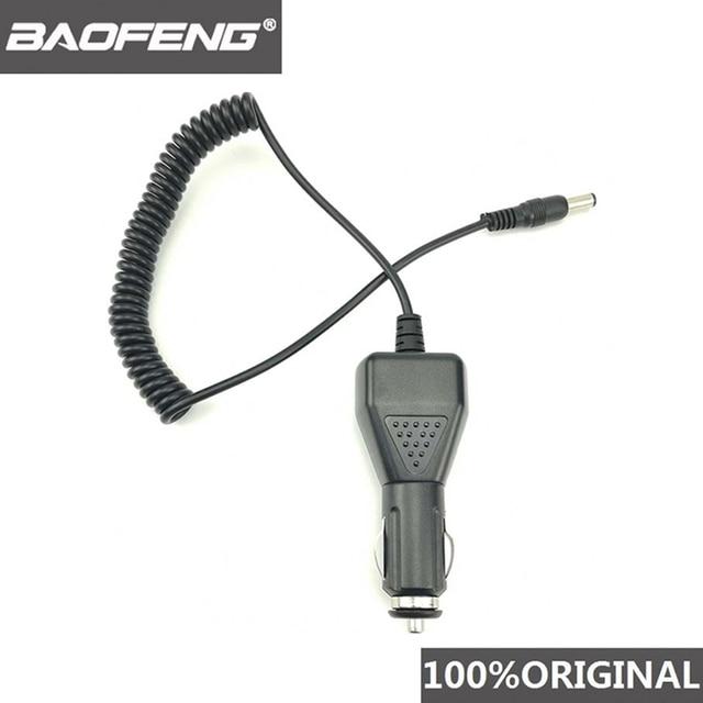 Baofeng UV 5R USB araç pil şarj cihazı için Baofeng UV 5R 5RE F8 + DM 5R Walkie Talkie UV5R Ham radyo DMR iki yönlü telsiz aksesuarları