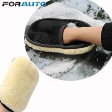 Для Авто-Стайлинг, мягкая шерсть, перчатки для мытья автомобиля, автоуход, чистка автомобиля, микрофибра 240*160 мм, авто инструменты для детализации