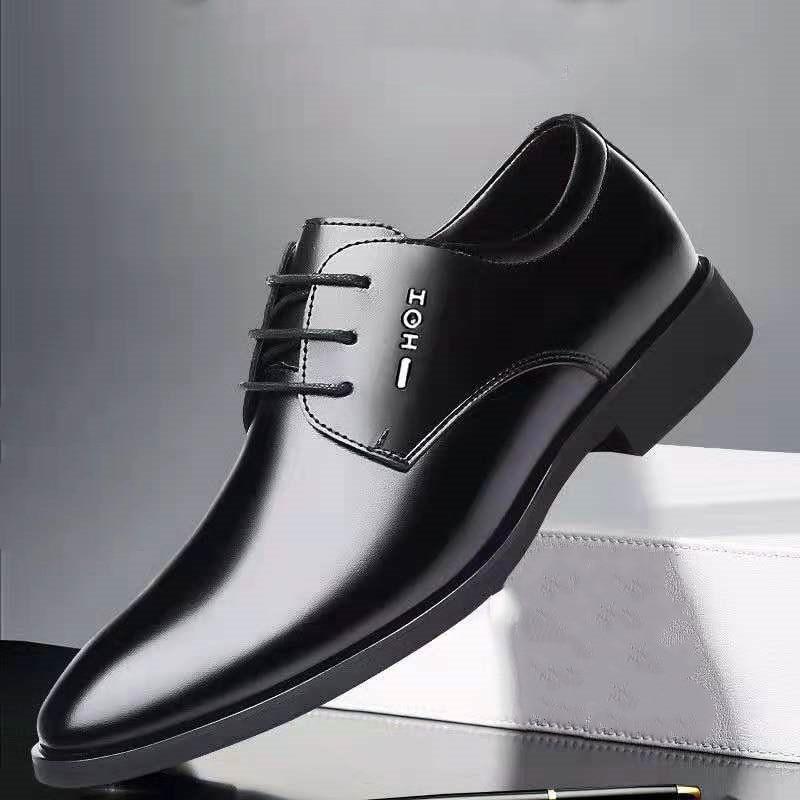 Mazefeng clássico de negócios dos homens vestido sapatos moda elegante formal sapatos de casamento dos homens deslizamento no escritório oxford sapatos para homem 2020 novo