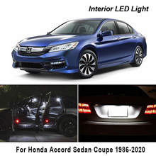 License-Plate-Lamp Honda Accord Car-Lights Auto-Accessories Canbus Coupe for Sedan Vehicle