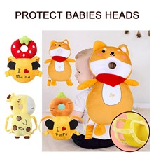 Baby Newborn Anti-Fall Head Protection Cushion Baby Toddler Toddler Artifact Anti-Fallback Anti-Collision Headrest Head Cap