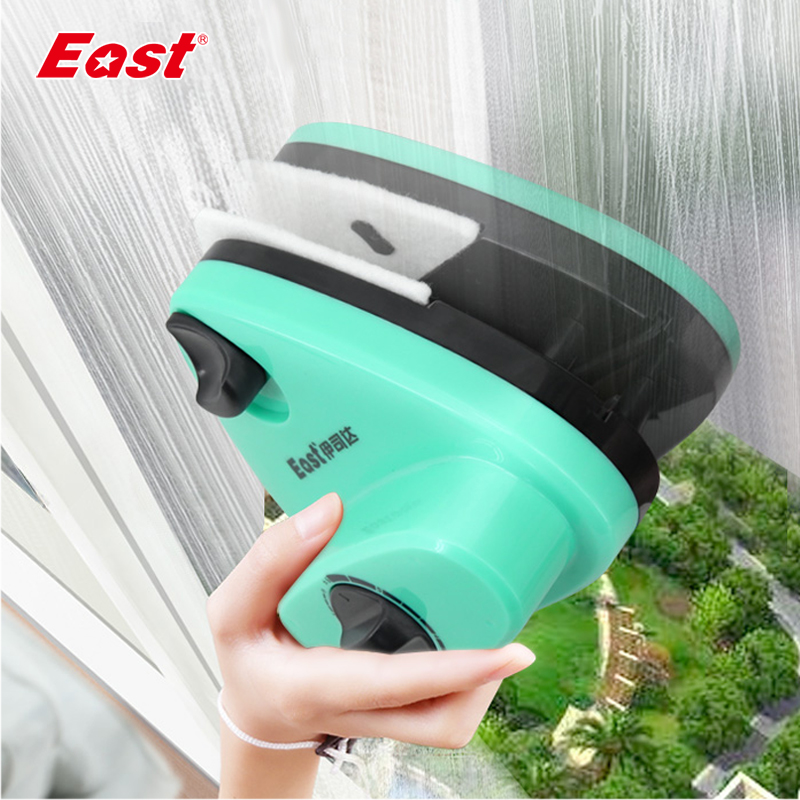 East Super Strong Magnetic 16-35mm Double-sided Window Cleaner Adjustable Glass Wiper Magnet Glazing Cleaning Tools H400