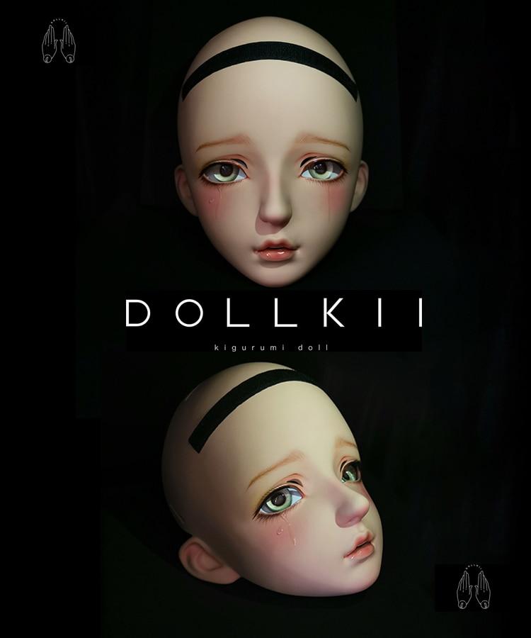 (DOLLKII-V) top Qualidade Artesanal Feminino Menina Resina