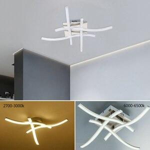 Image 2 - أضواء سقف ليد حديث 3 أو 4 ضوء السقف 21 واط/28 واط 3000 كيلو 6500 كيلو متشعب على شكل أضواء للمطبخ ديكور غرفة نوم ضوء الليل