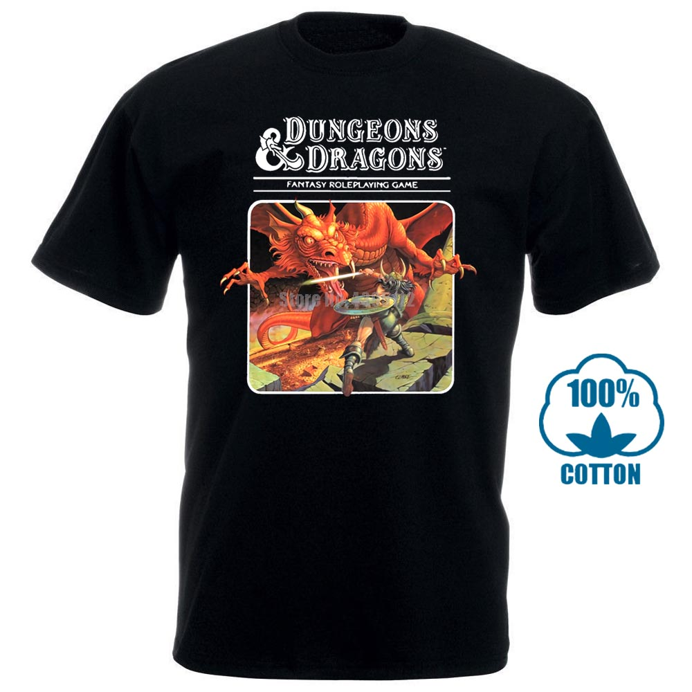 Dungeons Dragons T Shirt Shopping 2018 Where To Buy Mens T Shirt Short Sleeve Best Tee Shirt Men