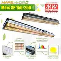 Novedad, Mars Hydro SP 150 250, luz LED de cultivo, espectro completo, planta de interior, lámpara de flores vegetales, conductor Meanwell, cero ruido, resistente al agua