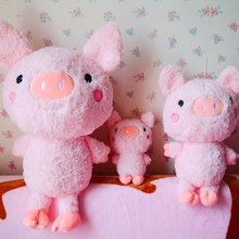 Pig Pillow Cute Animal Doll Classic Toys Kid Gift Stuffed Animals & Plush Child Toy Dolls & Accessories  Action & Toy Figures bohs jungle animals in fence toy animal figures collectible 32 animals