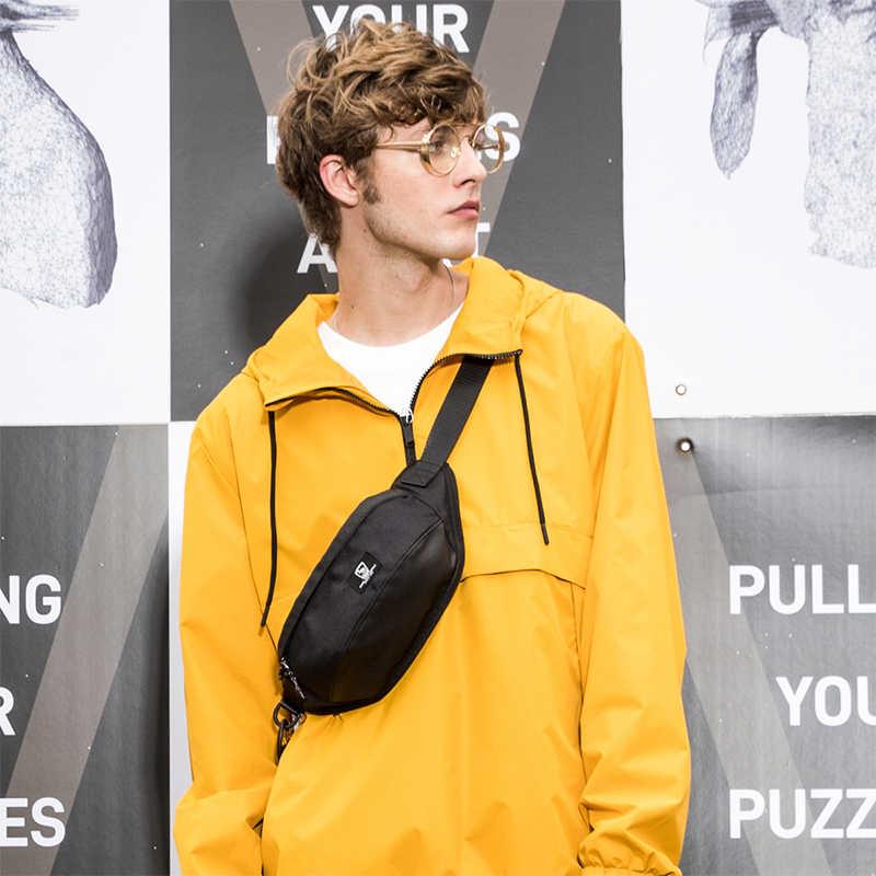 Многофункциональная поясная сумка Oiwas, сумка через плечо, модная спортивная водонепроницаемая короткая нагрудная сумка для мужчин и женщин, для улицы