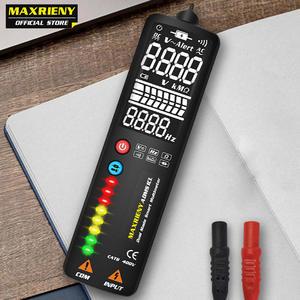 MAXRIENY Digital Multimeter Hidden-Wire-Tester Ncv-Test Smart Continuity Ebtn-Display